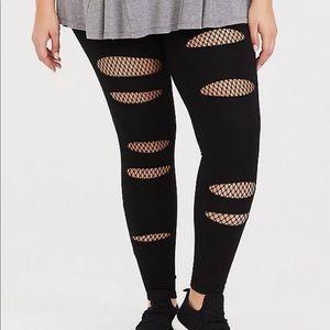 Torrid fishnet leggings